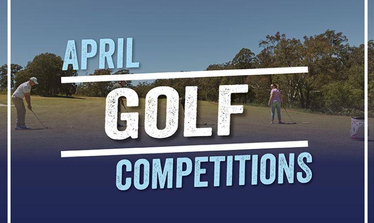 April Golf Series