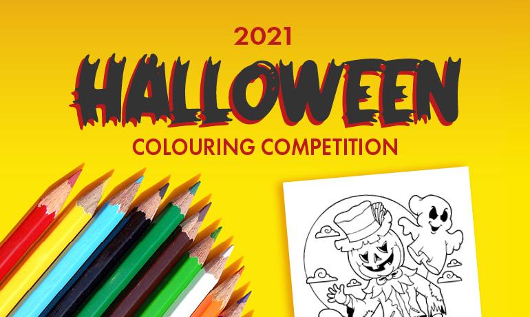 Bingara Gorge Halloween Colouring Competition